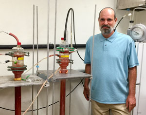 Jim Field is developing technologies to rid wastewater of contaminants like arsenic with anammox bioreactors.