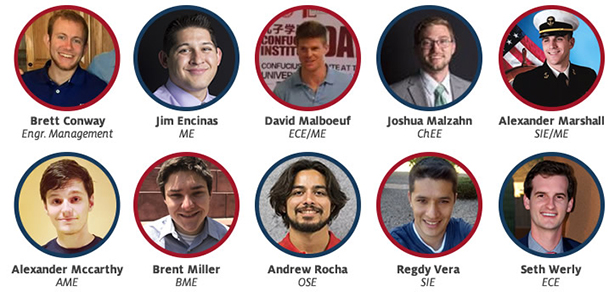 2017 UA Engineering da Vinci Scholars