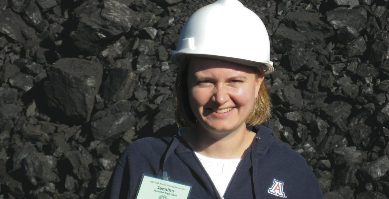 Assistant professor Jennifer McIntosh.