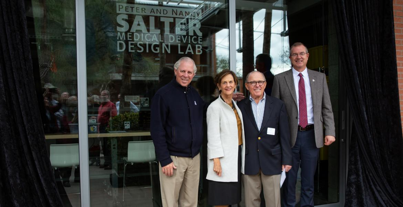 Salter Lab opening