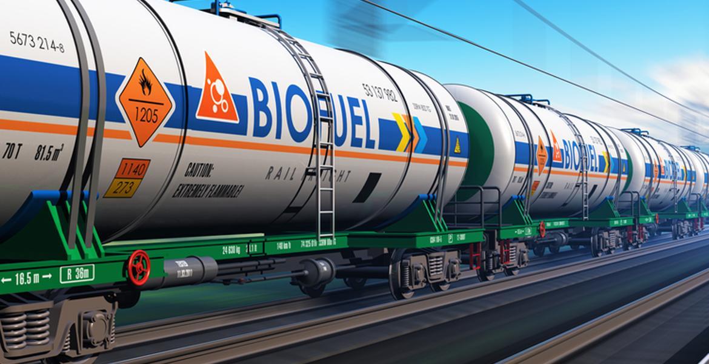 biofuel tanker train