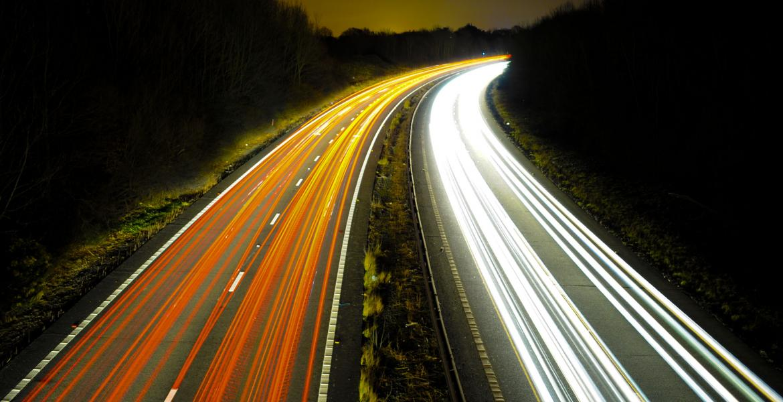 high-speed traffic