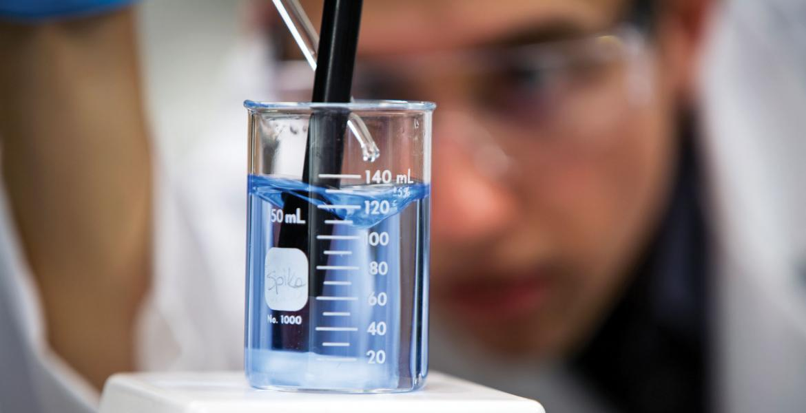 Researcher tests water potability