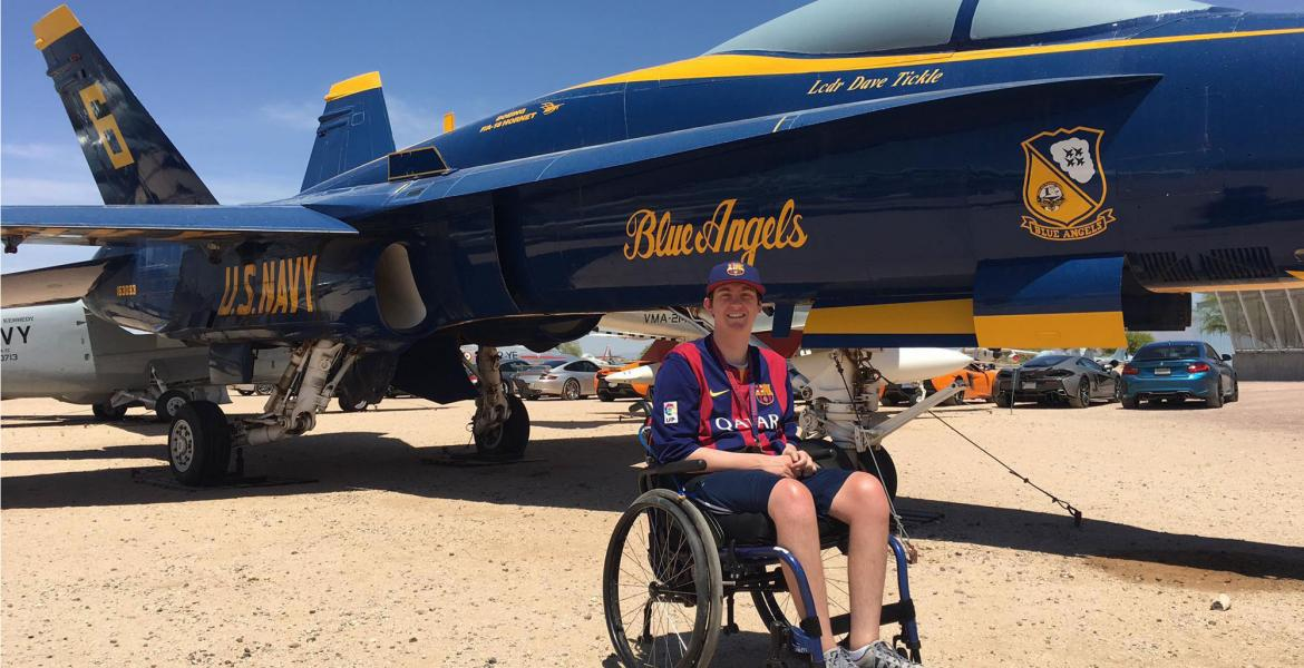 alex spartz at pima air museum