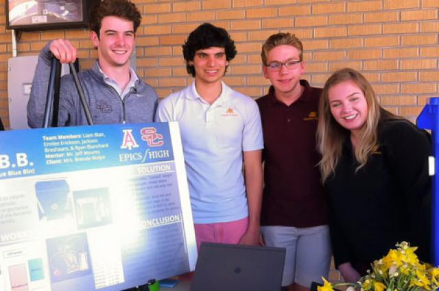 Salpointe UA ENGR High School 102 Projects
