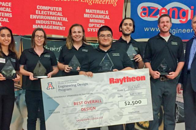 Winners of UA Engineering 2017 Design Day