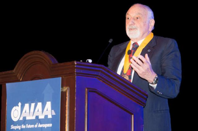 Israel Wygnanski speaks at AIAA on active flow control