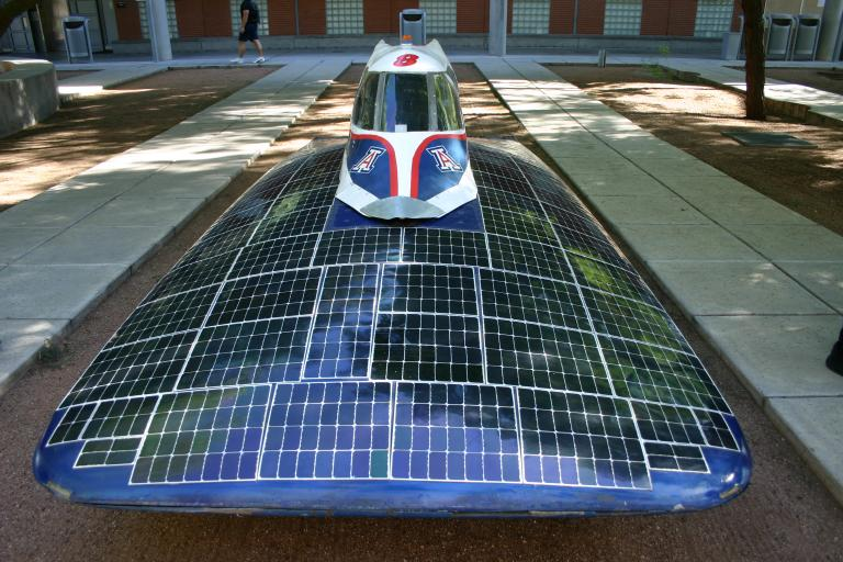 Solar-Powered Race Race Car: Drifter 2.0