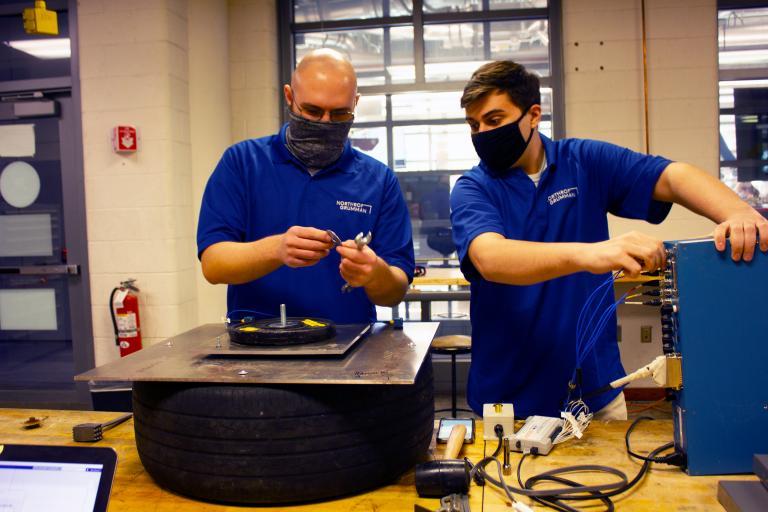 Team 21032 members at work