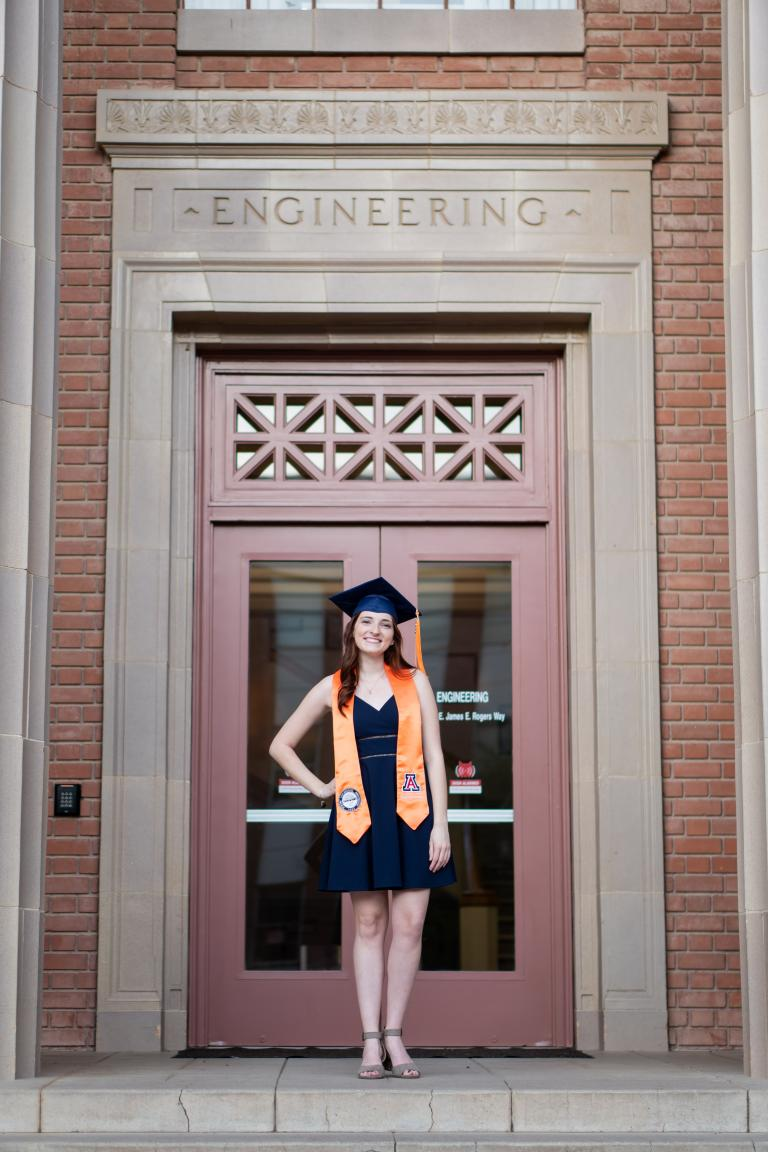 Elizabeth Seader, outstanding senior in engineering management