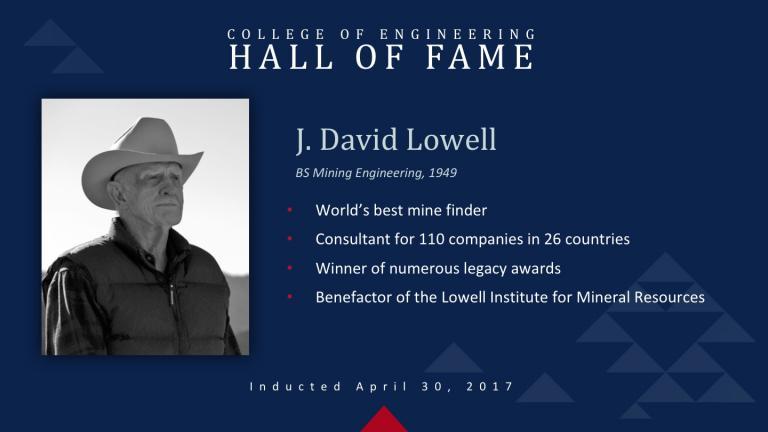 J. David Lowell