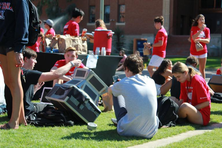 Sack lunches fueled Wildcats through the Solar Oven Throw Down.