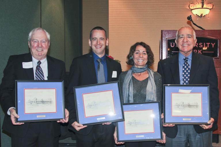 Civil Engineering award winners