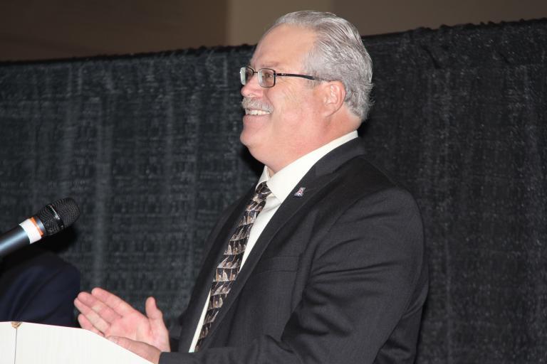 Professional Achievement Award recipient Michael Slattery