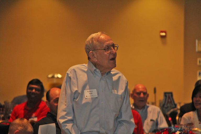 Robert Hall, Class of 1949, at the 2016 Engineers Breakfast