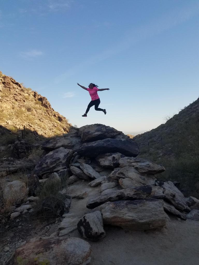 Garcia documents her travels and adventures in her blog, Enthusiastic About Life