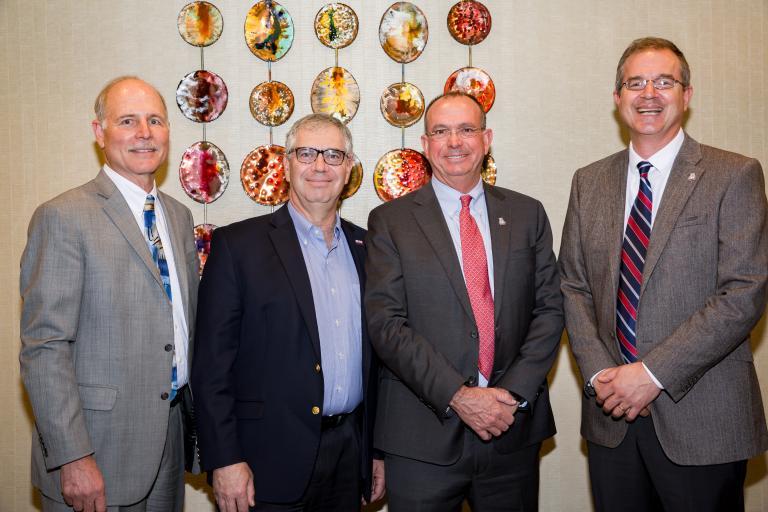 Tom Peterson, Jeff Goldberg, Larry Head and David Hahn