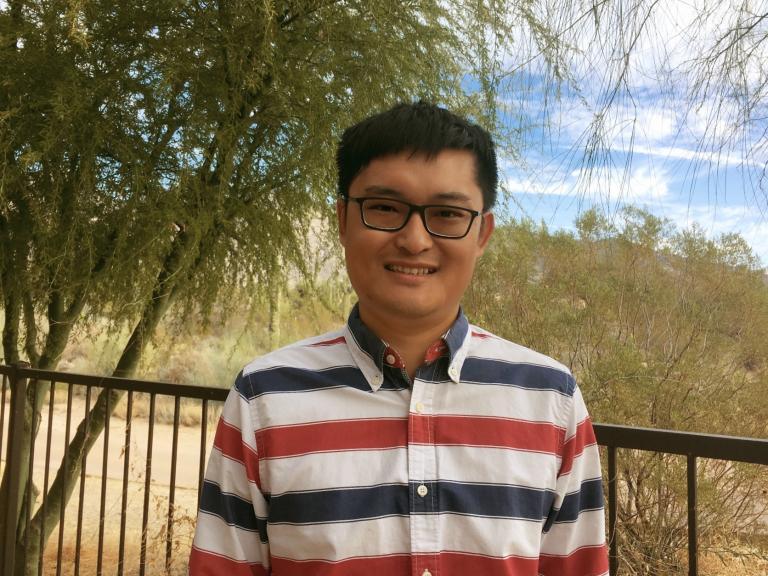 Assistant professor Zheshen Zhang