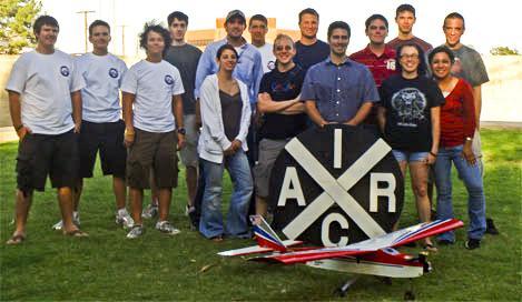 The UA aerial robotics team