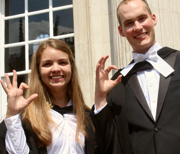 Jeannie Wilkening and Travis Sawyer in Cambridge