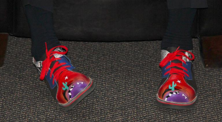 Dave Crawford's shoes