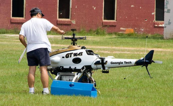 Georgia Tech's chopper