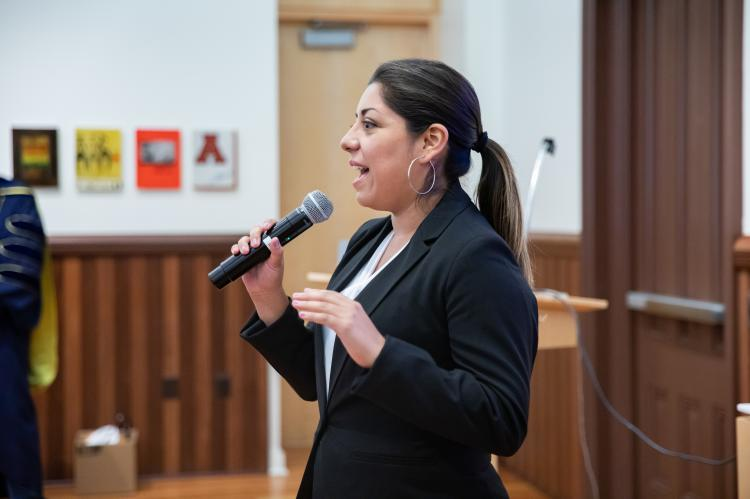 Rosa Maria Rojas, lead professor and program manager of the Mining 360 Program