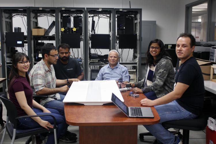 Salim Hariri and his students