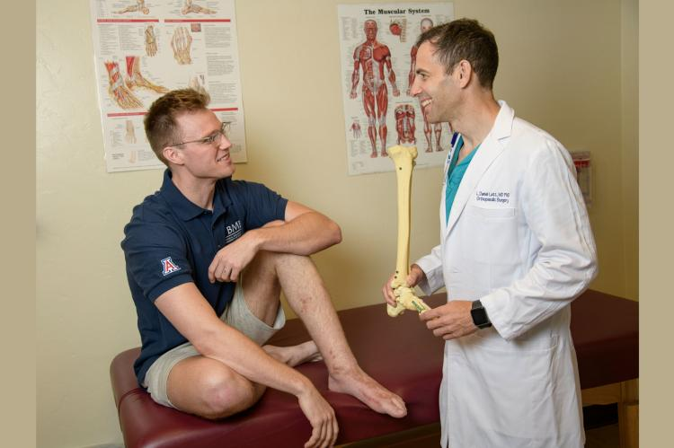 Ian Jackson and Dr. Daniel Latt