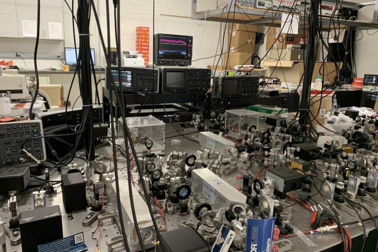 Zheshen Zhang's laboratory.