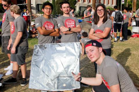 UA Solar Oven Throw Down