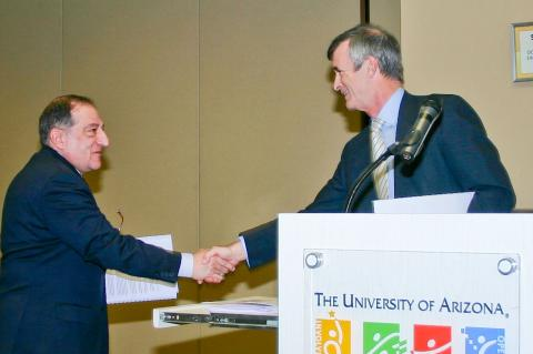 UA presidents meets French research representative