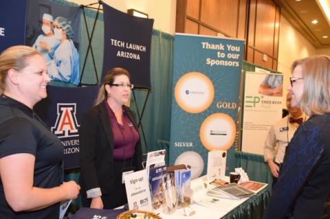 UA booth at AZBio 2016