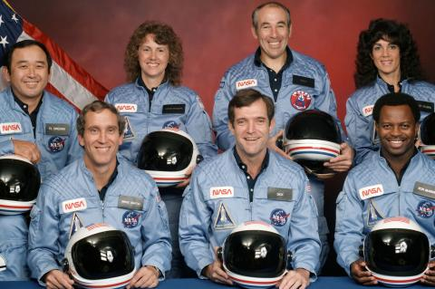 space shuttle crew