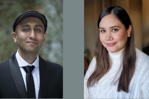 Hamid Ghaderi and Varinia Felix