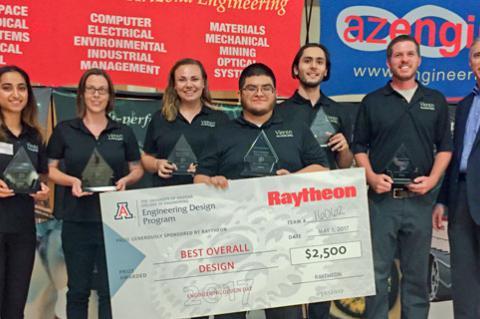 Winners of UA Engineering 2017 Design Day