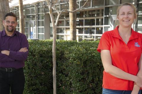 Arvind Raman and Justine Schluntz