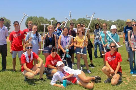 summer engineering academy students