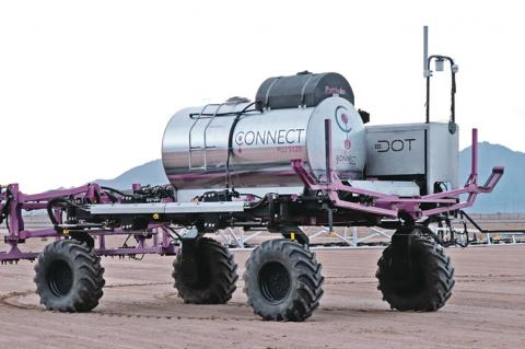 robotic farm vehicle