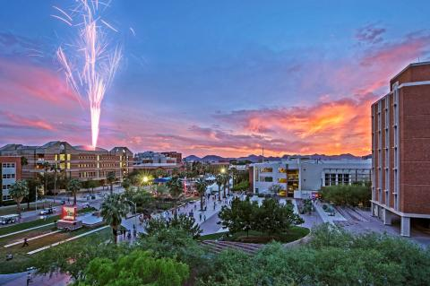 The University of Arizona campus