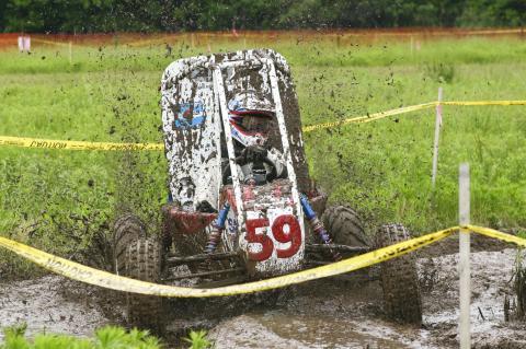 student race car