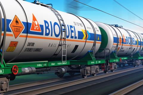 biofuel tanker train
