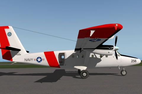 navy twin otter aircraft
