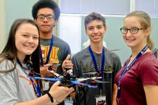 Students at Summer Engineering Academy