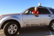 Jonathan Sprinkle runs UA contest for driverless vehicle